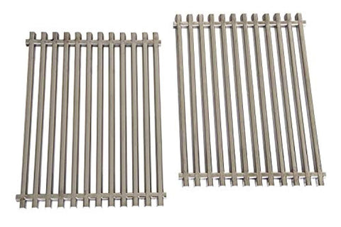VICOOL hyG7521 Stainless Steel Grill Cooking Grates 7521 65905 Replacement for Weber Genesis Silver A Spirit 500 Spirit E/S 200 & 210 Gas Grills