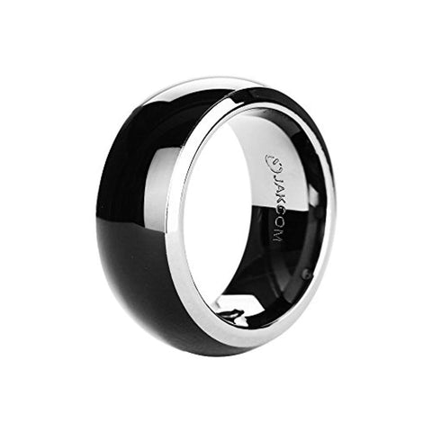 Vapeonly R3 NFC Magic Smart Ring Waterproof Electronics Mobile Phone Accessories Universal Compatible with Android iOS SmartRing Smart Watch (10#)