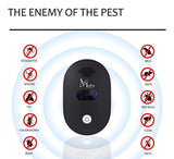 [NEW UPGRADED] Mefru Ultrasonic Pest Repeller-Electronic Pest Control-Plug in Home Outdoor and Indoor Repeller - Get Rid of Insects, Rodents, Mice, Mosquitoes, Cockroaches, Spiders, Flies, Ants.