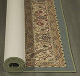 "Sweet Home Stores Medallion Design Non-Slip Rubber Backing Runner Rug, 2'2"" X 6'0"", Seafoam"