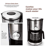 Single Serve Coffee Maker Brewers, One Cup Coffee Machine for Most Single Cup Pods including Pods by Comfee