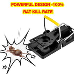 Authenzo Mouse Trap, Rats/Mice Trap That Work Humane Power Rodent Killer 100% Mouse Catcher [Quick & Effective & Sanitary] Safe for Families and Pet - 6 Pack