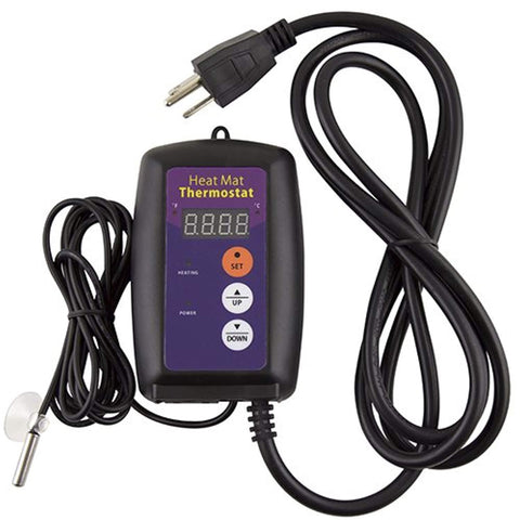 Apollo Horticulture 68-108°F Digital Heat Mat Thermostat Controller