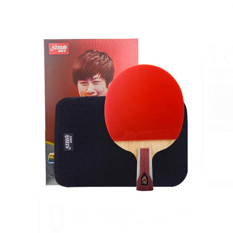 SSHHI 6 Star Ping Pong Racket,Sports Series,Ping Pong Racket Set,The Best Choice for Indoor and Outdoor Activities,Solid/As Shown / 26×15CM