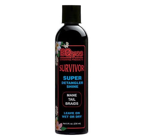 Eqyss Survivor Equine Detangler - Perfect for Manes, Tails, Braids, or Feathered Legs …