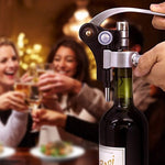 Premium Wine Gift Set - Unique Bottle Opener Corkscrew All-in-one Accessories Set for Wine Lovers. Perfect for Hostess, Housewarming, Wedding and Anniversary Gifts