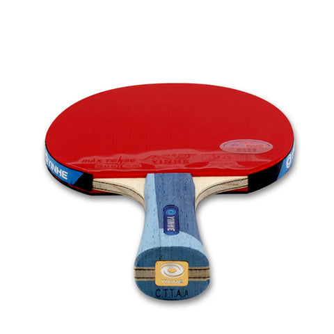 SSHHI Ping Pong Racket Set,Attacking Table Tennis Bats,Suitable for Intermediate Players to Use, Durable/As Shown/Short Handle