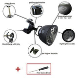SNAP that NOW BBQ Grill Light - Black, BAR Metal CLAMP, 10 LED Lights with Touch-Sensitive Switch
