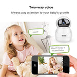 Haichendz (Pro Home Wireless IP Camera 1080P HD WiFi Indoor Security Surveillance System Pan/Tilt Two-Way Audio & Night Vision Baby/Elder/Pet/Nanny Monitor