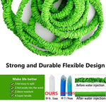 AZUNX Garden Hose, 75ft Expandable Water Hose with Triple Layer Latex Core & Latest Improves Extra Strength Fabric Protection