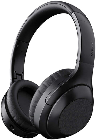 Noise Cancelling Headphones, VIPEX Bluetooth Headphones Wireless Headphone Over Ear with Microphone Hi-Fi Sound Deep Bass, Fast Charge, 30 Hours Playtime for Work Travel