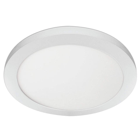 "Feit 15"" Round Flat Panel, Edge-Lit, Color Selectable 3 in 1, 3000K/4000K/ 5000K, White Trim, Energy Star"