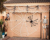 COOLJOY Giant Halloween Spider 1PCS 5FT(60 INCH) Halloween Decorations Virtual Realistic Hairy Spider Halloween Outdoor Decoration