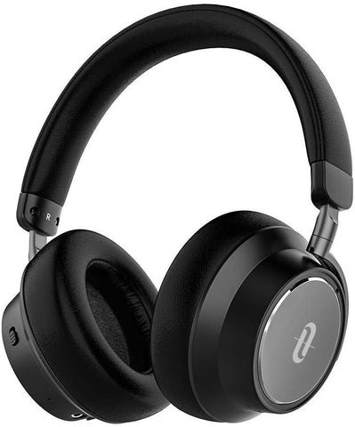 TaoTronics Hybrid Active Noise Cancelling Headphones [2019 Upgraded] Bluetooth Headphones SoundSurge 46 Over Ear Headphones Headset with Deep Bass, Fast Charge 30 Hour Playtime for Travel Work TV PC