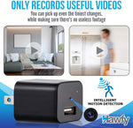 Hawfy HD 1080p Mini Hidden Camera - Mini Spy Camera Wireless Hidden - Motion Detection Mini Camera Spy - Loop Recording Spy Cam & Spy Cameras
