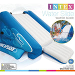"Intex Water Slide Inflatable Play Center, 135"""" X 81"""" X 50"""", for Ages 6+ Fun colors and designs"