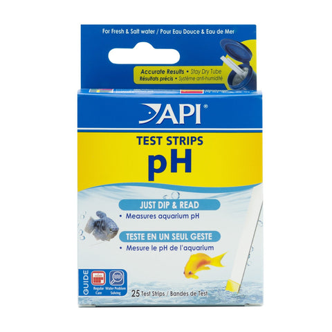 API TEST STRIPS Freshwater and Saltwater Aquarium Test Strips