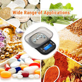 AccuWeight Mini Pocket Gram Scale for Jewelry Digital Food Kitchen Scale with Tare and Calibration 1000 by 0.1g Weight Scale