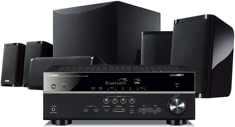 YAMAHA Black 5.1-Channel Home Theater System with MusicCast