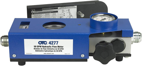 OTC Tools 4277 50 GPM Hydraulic Flow Meter