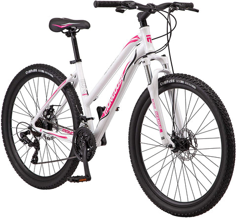 Mongoose Switchback Adult Mountain Bike, 8-21 Speeds, 27.5-Inch Wheels, Aluminum Frame, Disc Brakes, Multiple Colors