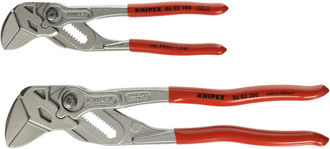 "Knipex Tools 9K 00 80 109 US Pliers Wrench 7"" and 10"" Set with Keeper Pouch (2 Piece)"