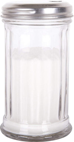 Kangaroo's Flip Cap Glass Sugar Dispenser 12 Ounce