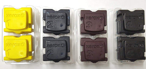 Genuine Xerox 108R00926 108R00927 108R00928 108R00930 for Phaser ColorQube 8570 8580 Ink Sticks (1 Set)