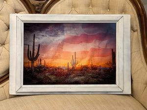 16 x 24 Double-Framed Art