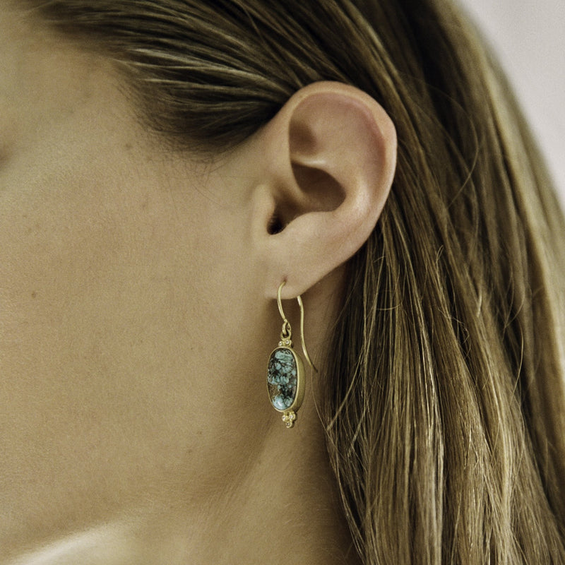 Turquoise Tania Earrings