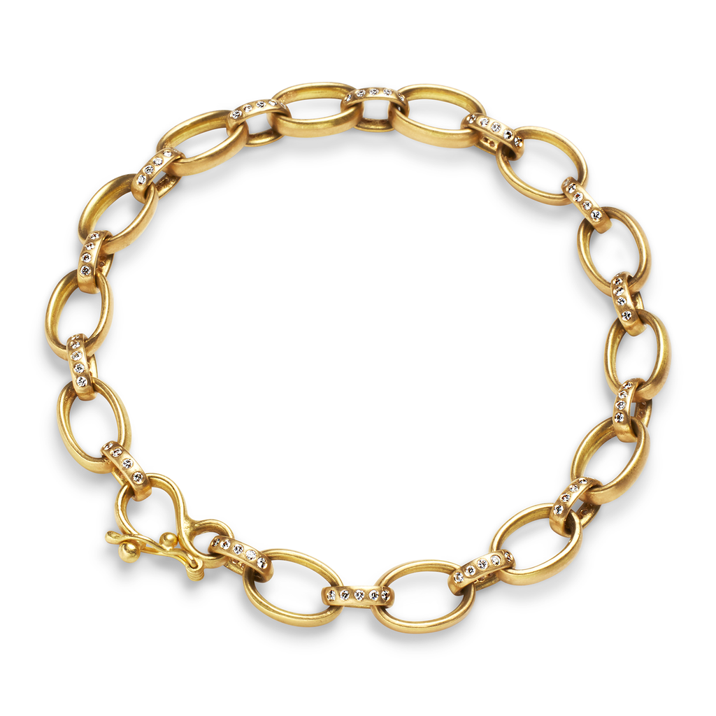 Sonoma Link Bracelet with Diamonds
