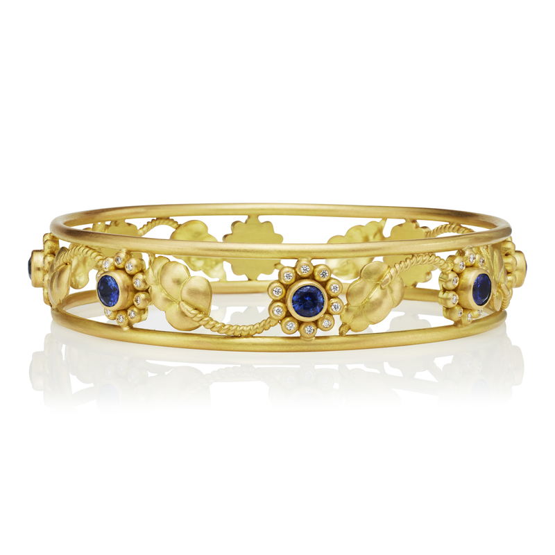 Sunflower Vine Bangle