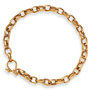 Sonoma Small Link Bracelet in 20K Peach Gold