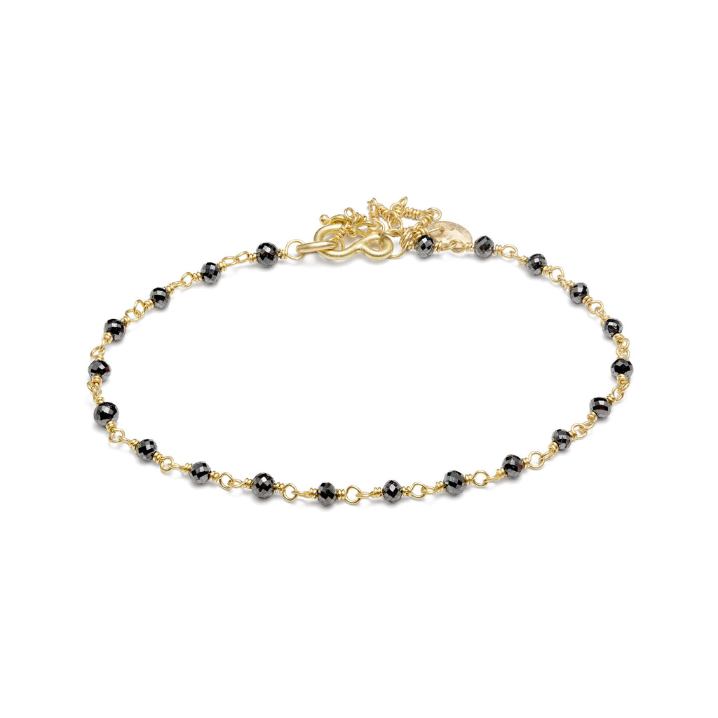 Isabella Bracelet with Black Diamond
