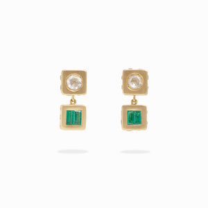 Patmos Selene Removable Stud Drop Earring