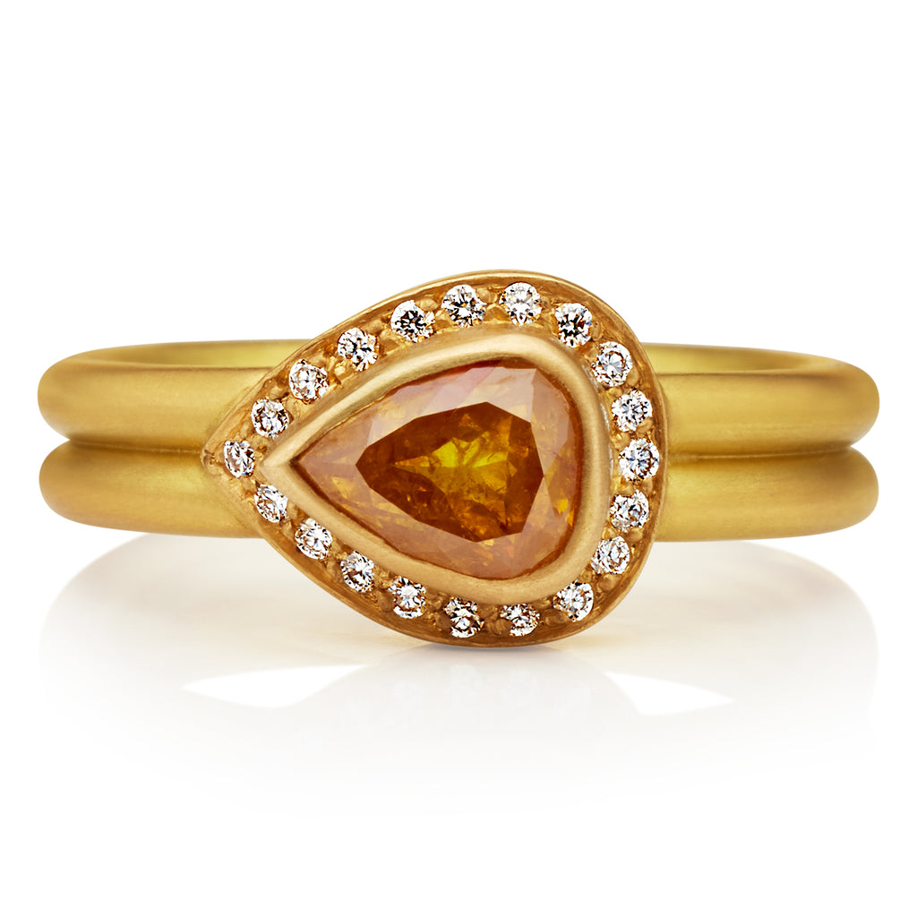 Sahara Ring with Yellow Diamond