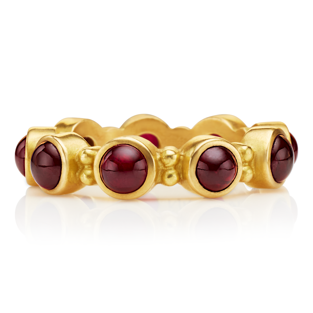 Ruby Garland Ring