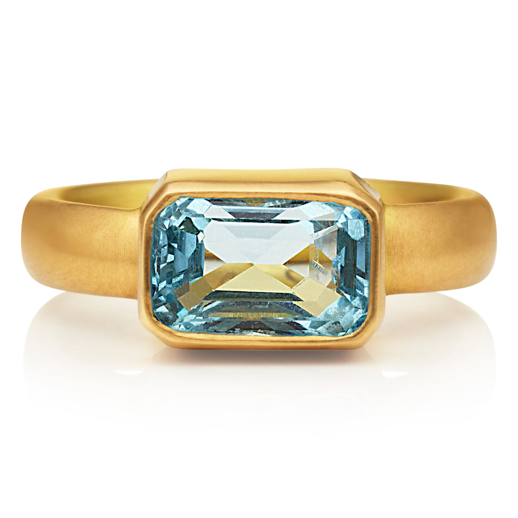 Sonoma Ring with Aquamarine