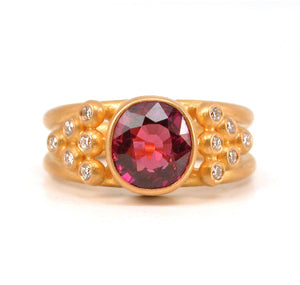 Sophia Ring with Ruby