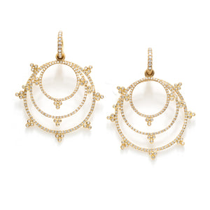 Tania Diamond Drop Earrings