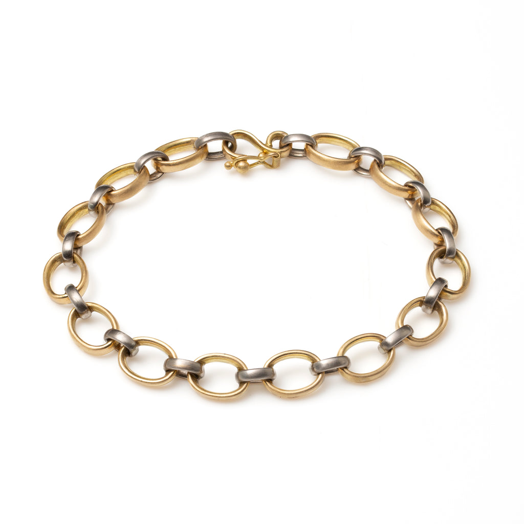 Sonoma Mixed Metal Alternating Link Bracelet