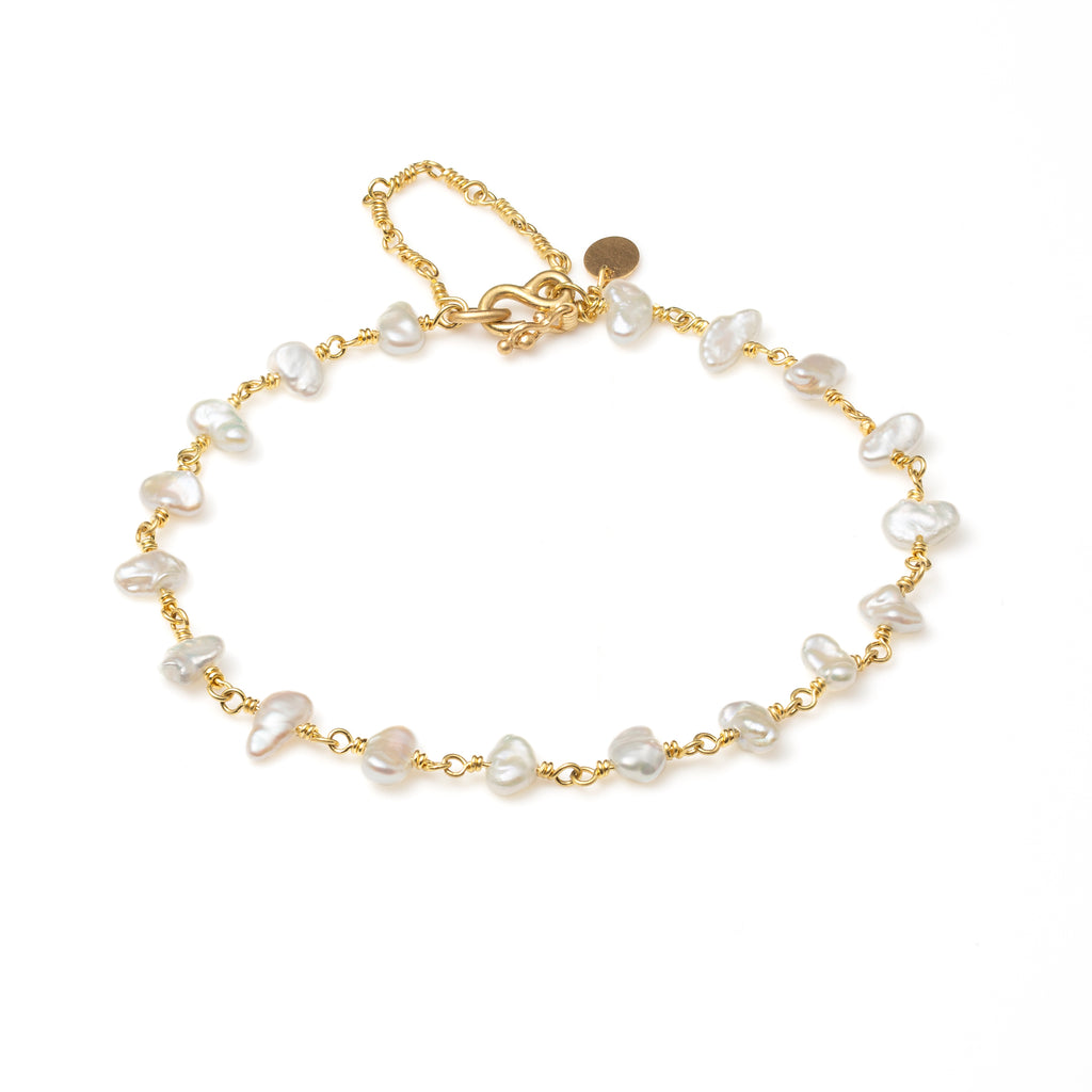Isabella Bracelet with Pearls