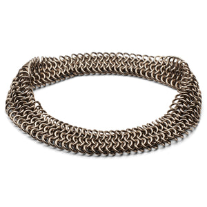 Guinevere Bracelet with 5 Rows of Links