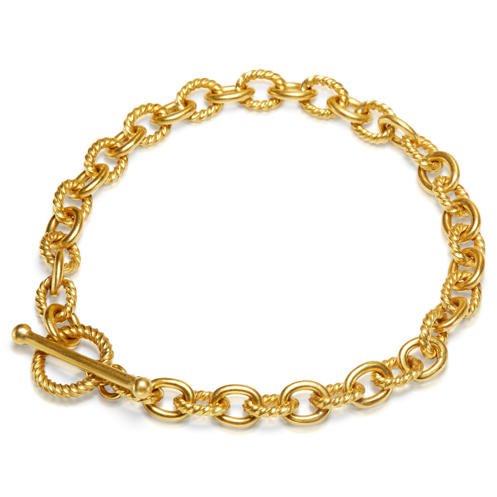 Mixed Oval Link Bracelet