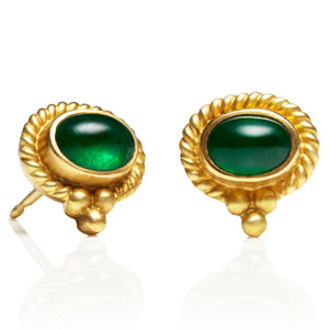 Emerald Tania Earrings