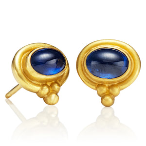 Blue Sapphire Tania Earrings