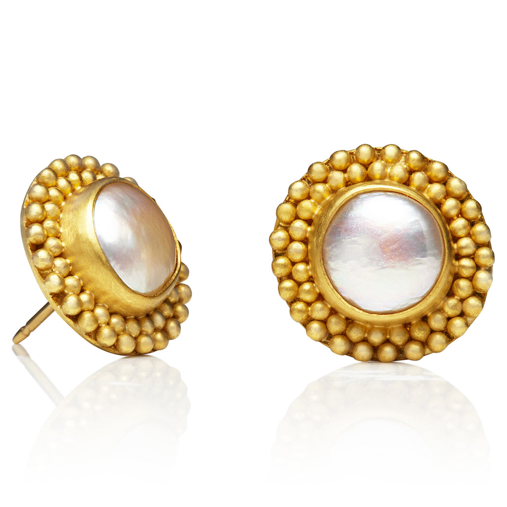 Baroque Pearl Classic Earrings