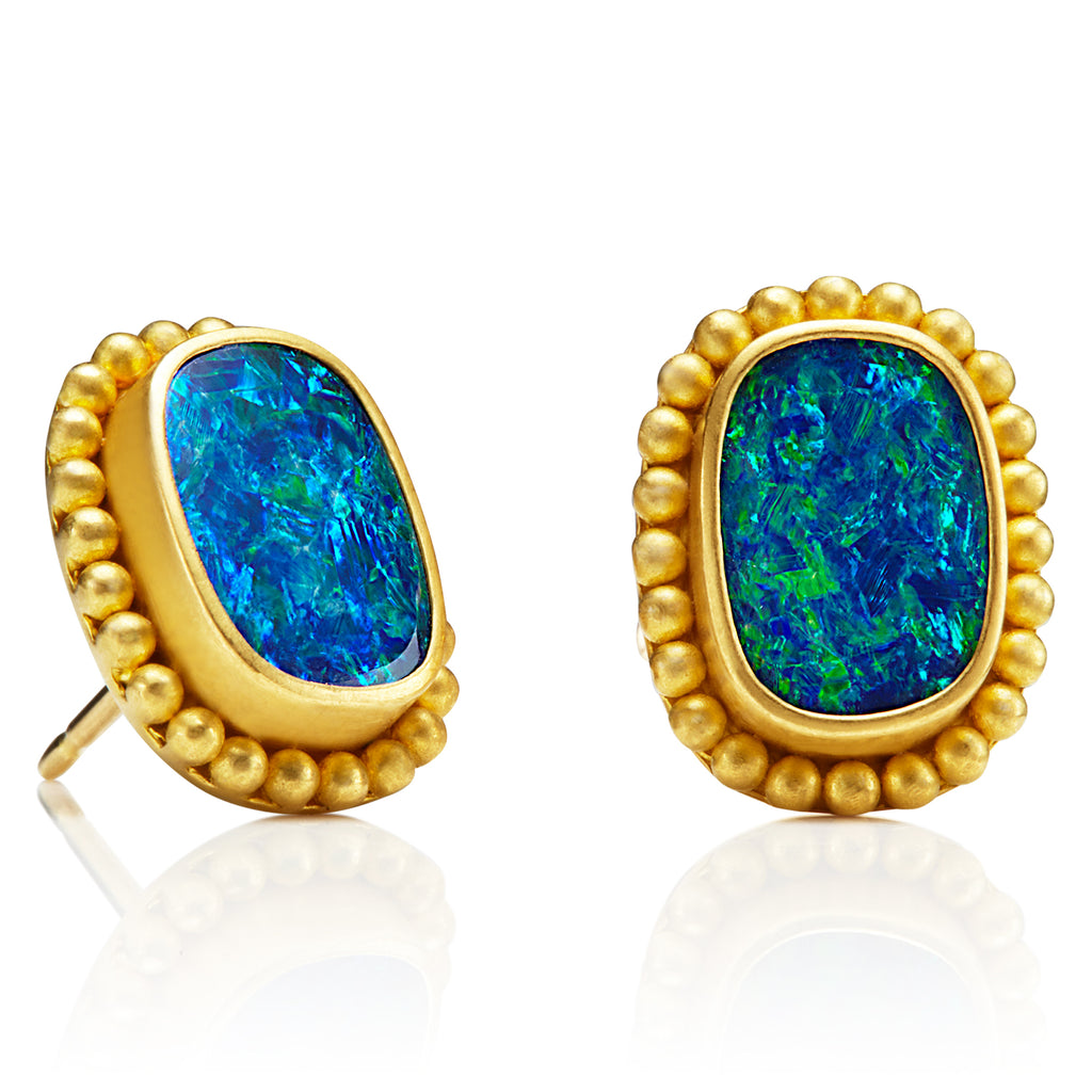 Opal Classic Earrings