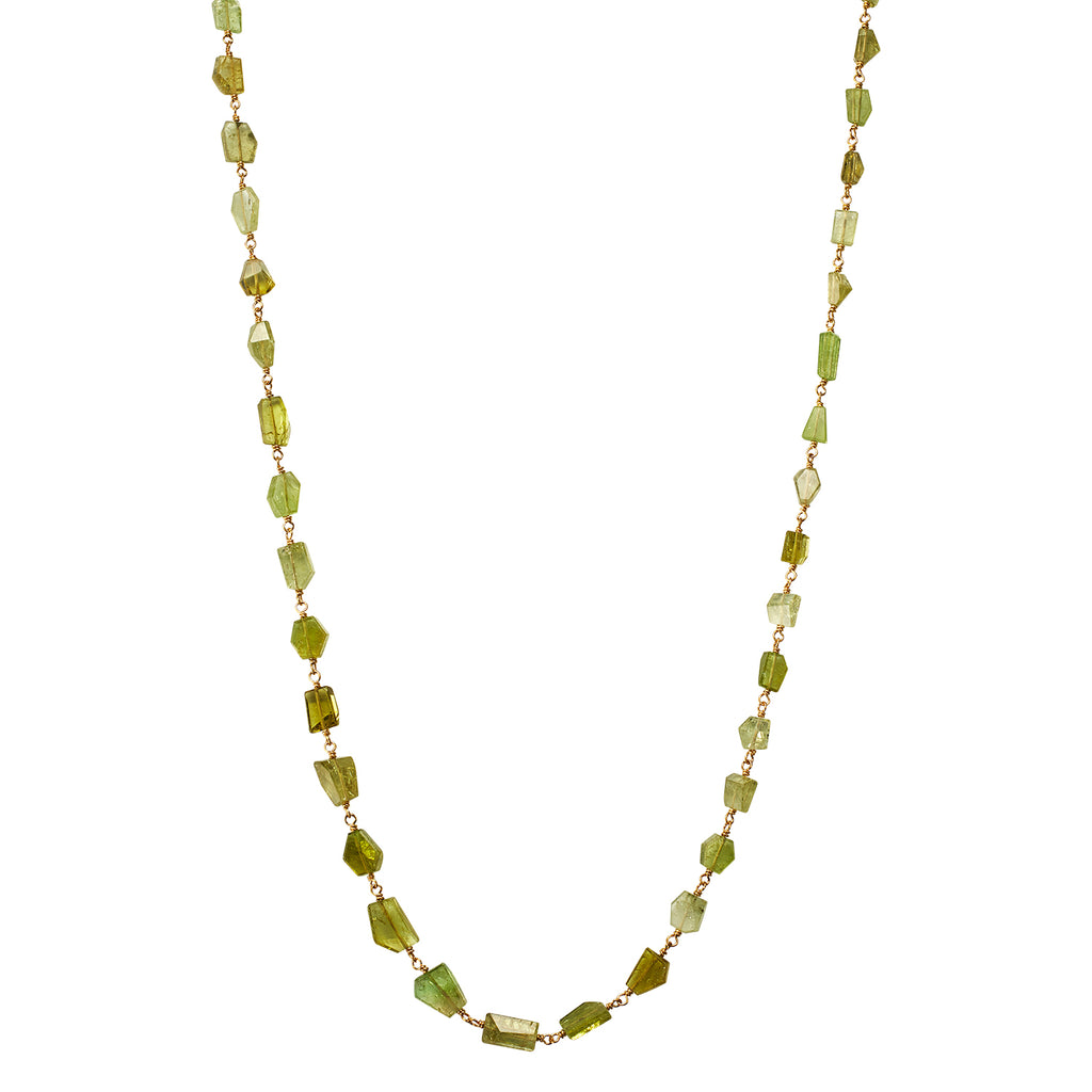 Isabella Necklace with Glassy Tourmaline