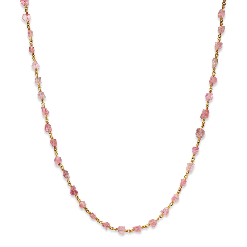 Isabella Necklace with Pink Tourmaline